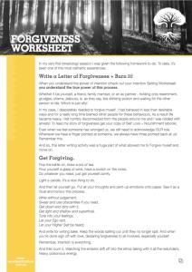 forgiveness-worksheet